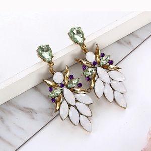 🔹New🔹Frosted Geneva Earrings
